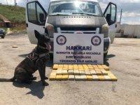 49 kilo 700 gram uyuşturucu ele geçirildi.