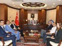 Mikro Kredi Diyarbakır bölge müdürün'den Vali Akbıyık'a ziyaret