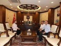 Başkan Özer ve hakimlerden Vali Akbıyık'a ziyaret
