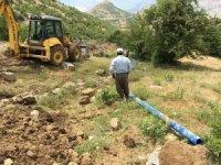 Çukurca'da içme suyu hattı yenileniyor