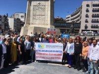 Usta öğreticiler Ankara'ya çıkarma yaptı