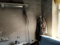 Devlet Hastanesi'nde yangın korkuttu