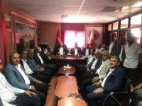 Ak Parti Hakkâri İl Teşkilatından Başkan Er'e ziyaret