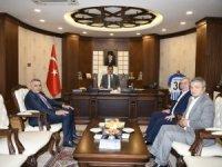 TOBB Başkanları Vali Akbıyık'ı ziyaret etti