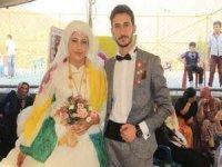 Ayfer ve Evliya Özer çiftine görkemli düğün