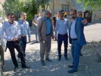 Eşbaşkan Karaman asfalt çalışmalarını denetledi