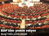 BDP'liler yemin ediyor