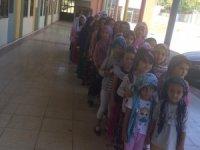 Çocuk oyun merkezi Kur'an kursu öğrencilerini ağırladı