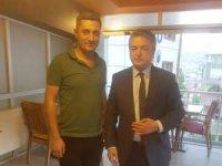 Başkan Taş'tan yenilenen AHS cafeye ziyaret