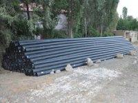 Bakanlık'tan Esendere belediyesine boru desteği