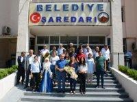Şırnak Milletvekili İmir, Hakkari belediyesini ziyaret etti