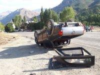 Trafik kazası 1 kişi yaralandı