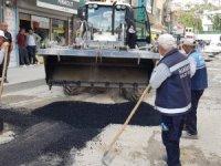 Hakkari'de doğalgaz sonrası yollar onarılıyor