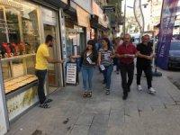 """HDP """"Halk Şöleni"""" için broşür dağıttı"""