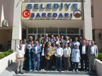 DTK Eşbaşkanı Güven'den belediye ye ziyaret