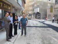 """Hakkari """"Özdemir"""" sokaktaki yollar onarıldı"""