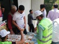 Şemdinli'de 5 bin kişiye aşure ikramı