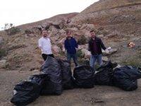 CİSAD üyeleri çevre temizliği yaptı