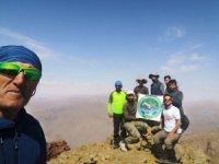 Cisad dağcıları Spi dağına tırmanış yaptı