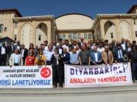 Diyarbakır'daki annelere Hakkari'den destek