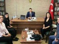 Girişimci kadınlardan Kaymakam Öztürk'e ziyaret