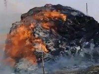 2 bin bağ ot alev alev yandı