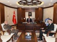 Yeni Müdür Atanur'dan Vali Akbıyık'a ziyaret
