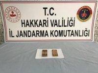 Hakkari'de 2.484 kilogram külçe altın ele geçirildi