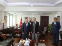Başkan Er'den Şırnak Valisi Pehlivan'a ziyaret