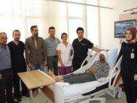 Şemdinli'de ilk beyin tümörü ameliyatı yapıldı