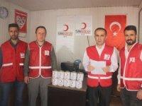 Kızılaydan bin 200n aileye kavurma yardımı