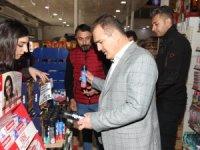 Vali Akbıyık, alışveriş merkezi AHS'yi ziyaret etti