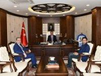 İller Bankası Kayatürk'ten vali Akbıyık'a ziyaret