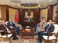 Başkan Gür'den Vali Akbıyık'a ziyaret