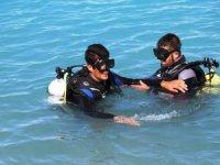 Engelliler Van Gölü'ne dalış yaptı