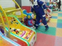 Çocuk Oyun ve Kültür Merkezi dezenfekte edildi