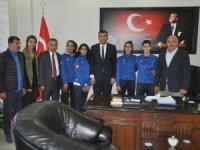 Yüksekova'dan milli takım seçmelerine 4 kadın futbolcu