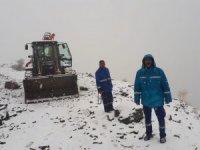 VASKİ ekibinin kar ve tipi imtihanı başladı