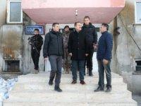 Vali Akbıyık, özel harekât yerleşkesinde incelemelerde bulundu