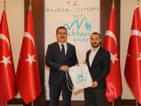 TÜGVA Başkanı Can'dan Vali Akbıyık'a ziyaret