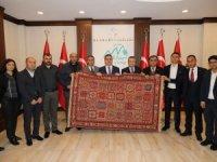 Hatso yönetim kurulundan Vali Akbıyık'a ziyaret