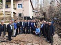 Kaymakam Güven, sınır köylerine ziyaret