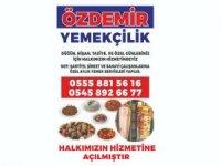 Hakkari Özdemir Yemekçilik hizmete açıldı