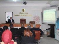 KOSGEB  Yüksekova'da Bilgilendirme Toplantısı Yaptı