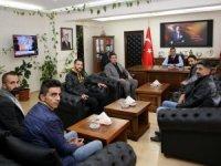 Başkan Yorulmaz'dan Müdür Aydın'a ziyaret