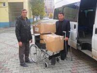 Engellilerden Van'a yardım
