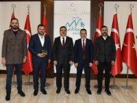 Başkan Ürek'ten Vali Akbıyık'a ziyaret