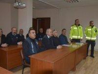 Hakkari'de Zabıta ekiplerine trafik eğitimi verildi