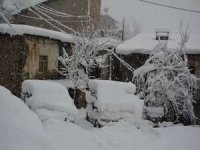 Hakkari'de kar esareti (Video)
