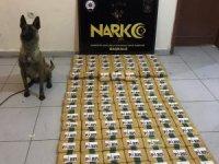 2 çuval içerisinde 77 kilo eroin ele geçirildi